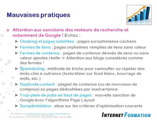 Compte Rendu – Formation SEO 15 février 2014 à Nantes avec Mathieu Chartier