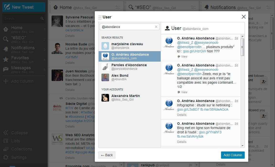Tweetdeck, un outil puissant pour gérer son compte Twitter !