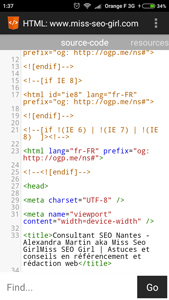 Source Code HTML et SEO